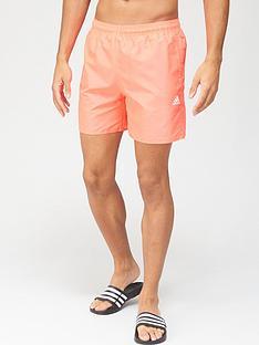 adidas-solid-swim-shorts-pink
