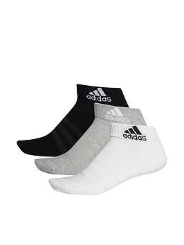 adidas-3-pack-ofnbspcushioned-ankle-socks-blackgrey