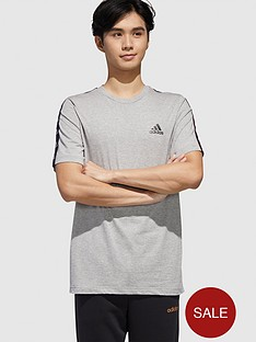 adidas-essential-tape-t-shirt-greynbsp