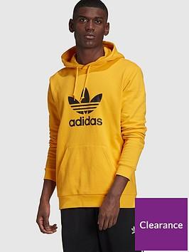 adidas-originals-trefoil-hoodie-gold