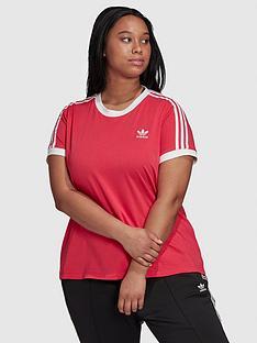 adidas-originals-3-stripe-t-shirt-curve-pinknbsp