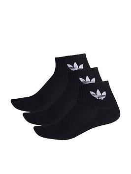 adidas-originals-3-pack-ofnbspmid-ankle-socks-black