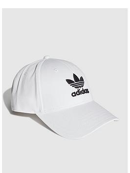 adidas-originals-classic-trefoil-cap-white