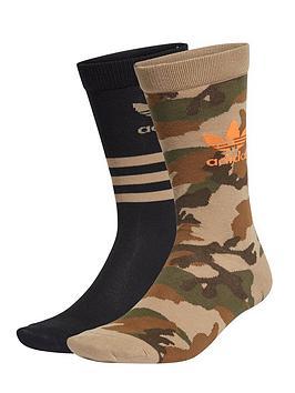 adidas-originals-2-pack-of-crew-socks-camo