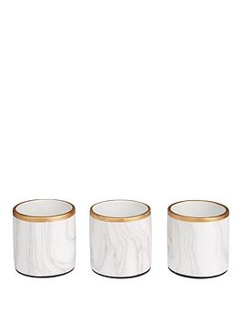 set-of-3-marble-effect-planters-with-gold-edging