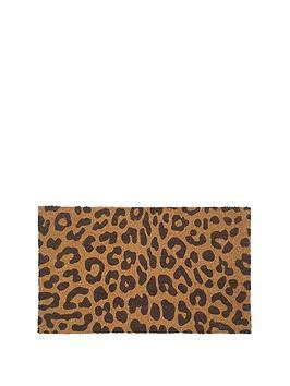 Very  Animal Coir Doormat