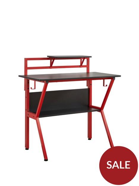lloyd-pascal-roguenbspcompactnbspgaming-desk-blackred