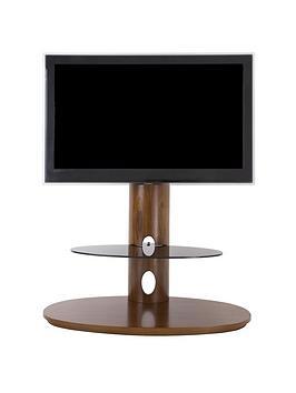 avf-chepstow-combi-930-tv-unitnbsp--walnut-black-glassnbsp--fitsnbspup-to-65-inch-tv