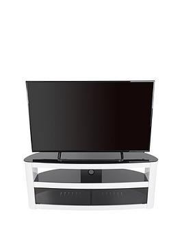 AVF Avf Burghley 1250 Tv Unit - White Gloss - Fits Up To 65 Inch Tv Picture