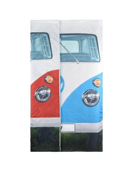 volkswagen-vw-double-sleeping-bag-bluered