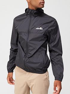 ellesse-cesanet-full-zip-jacket-black