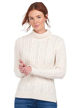 barbour-burne-wool-knit-jumper-cream