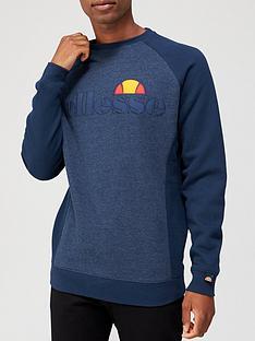 ellesse-tyson-sweatshirt-navy-marl