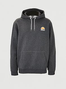 ellesse-plus-size-toce-overhead-hoodie-dark-grey-marl
