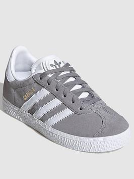 adidas-originals-gazelle-childrens-trainers-greywhite