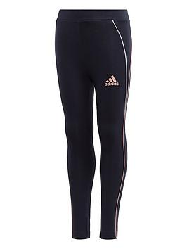 adidas-girls-cotton-leggings-navy
