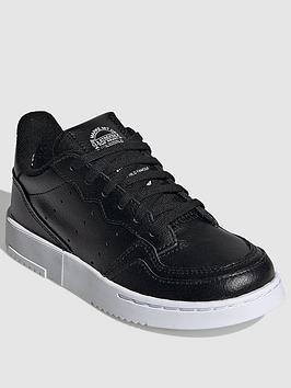 adidas-originals-supercourt-childrens-trainers-black