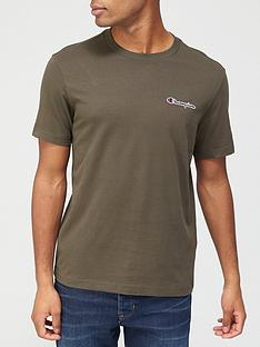 champion-small-logo-t-shirt-khakinbsp
