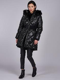 barbour-international-gameday-quilted-belted-coat-black