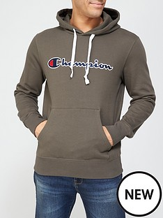 champion-overhead-hoodie-khaki