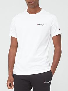 champion-small-logo-t-shirt-white