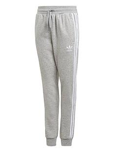 adidas-originals-childrensnbsptrefoil-pants-grey-heather