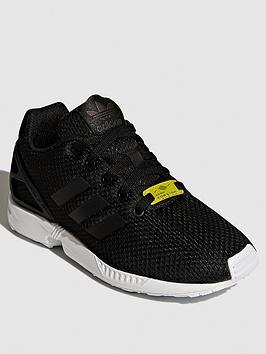 adidas-originals-zx-flux-junior-trainers-black
