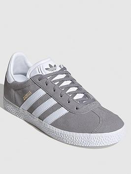 adidas-originals-gazelle-junior-trainers-greywhite