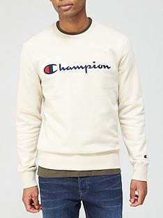 champion-crew-neck-sweat-beigenbsp