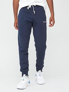 champion-small-logo-joggers-navy