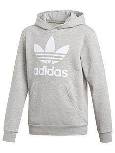 adidas-originals-trefoil-hoodie-grey-heather
