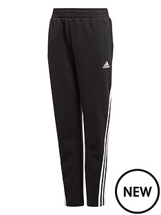 adidas-boys-3-stripes-tapered-pants-black