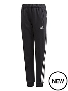 adidas-girls-3-stripes-pant-black