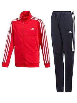 adidas-boys-tironbsptracksuitnbsp--red