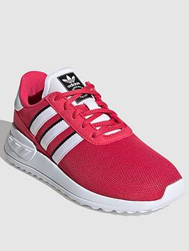 adidas-originals-la-trainer-lite-childrens-trainers-pinkwhite