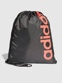 adidas-linearnbspcore-gym-bag-blacknbsp