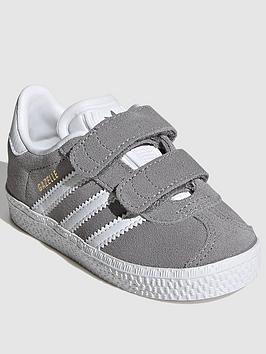 adidas-originals-gazelle-infant-trainers-greywhite