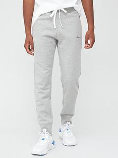champion-small-logo-joggers-grey-marl