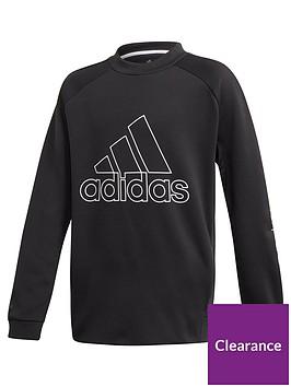 adidas-boys-training-sweat-crew-neck-top-black