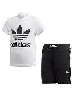 adidas-originals-short-t-shirt-set-whiteblack