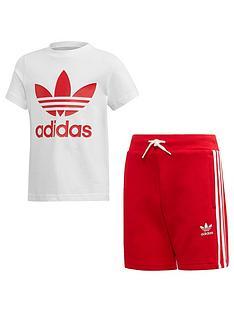 adidas-originals-short-t-shirt-set-whitered