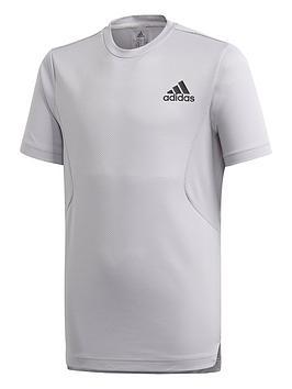 adidas-boys-hr-t-shirt-grey