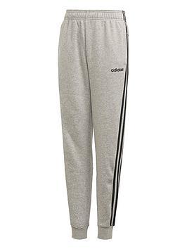 adidas-boys-3-stripes-pant-grey-heather