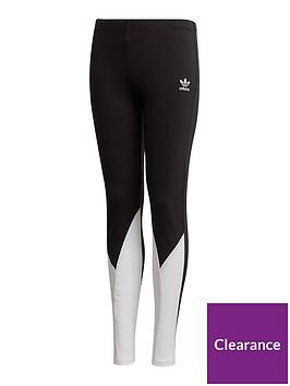 adidas-originals-unisex-big-trefoil-legging-black