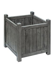 rowlinson-alderley-grey-square-planter