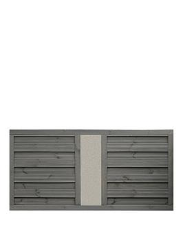 Rowlinson 3X6 Palermo Screen Solid Infill 3Pk