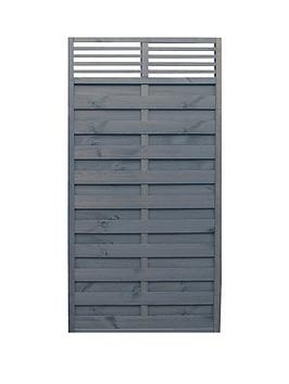 Rowlinson Rowlinson 6X3 Sorrento Slat Top Panel 3Pk Picture