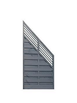 Rowlinson Rowlinson 3X6 Sorrento Angled Slat Top Panel 3Pk Picture