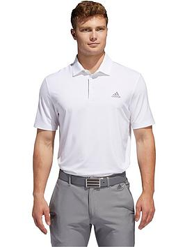 adidas-golf-ultimate-365-solid-polo-white