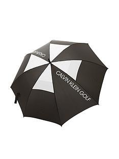 calvin-klein-golf-stormproof-vented-umbrella-blackwhite